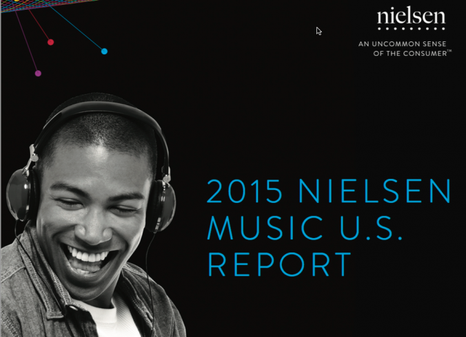 2015 Nielsen Music U.S. Report Cover